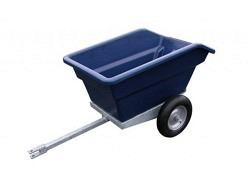 Kippbarer 250 Liter ATV/Rasentraktor Anhänger
