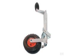 Stützrad Luftrad mit Halterklemme 48mm