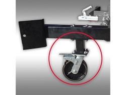 Minibagger-Transportrollen