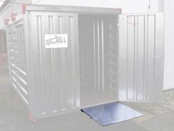 Container-Auffahrrampe