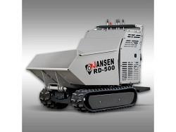 Raupendumper RD-500, Hydrostatischer Antrieb